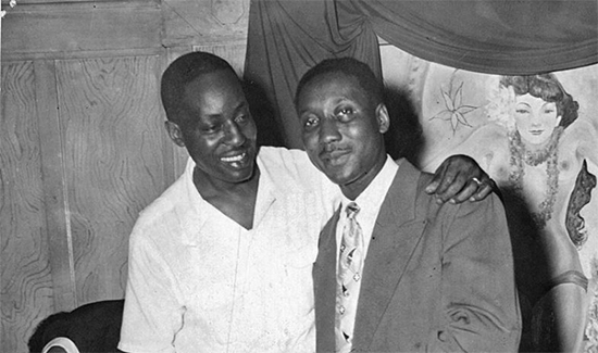 Muddy Waters con Big Bill Broonzy